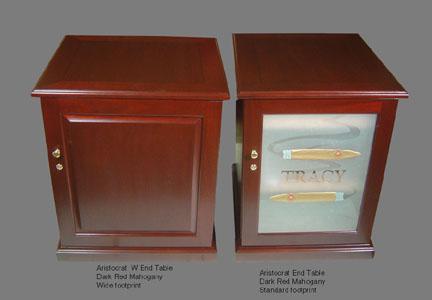 Aristocrat Cabinet Humidor Options