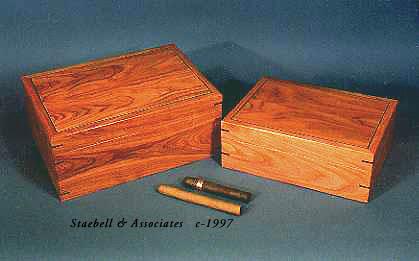 Mesquite Wood Humidors