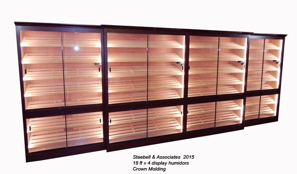 Commercial & Retail Display Humidors
