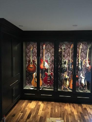Digital Guitar Instrument Humidification, Guitar Storage Cabinet